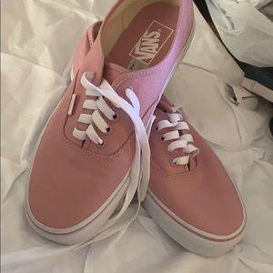 Men's Vans Pink